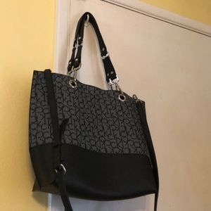 Calvin Klein Tote with wallet New